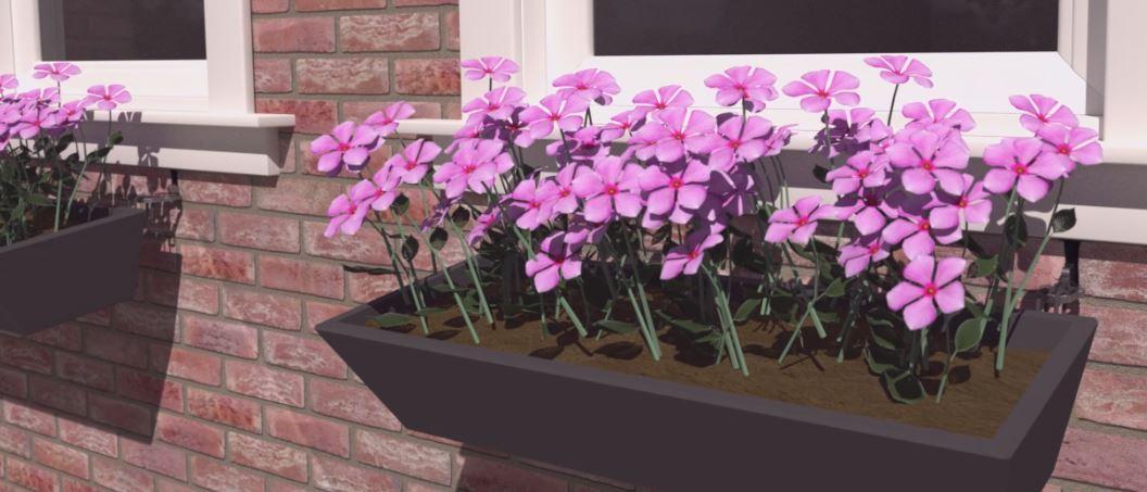 gevelversiering plantenbak zonder boren geen gevelschade sdpouwanker muuranker